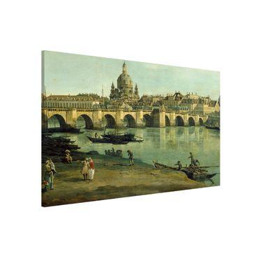 Lavagna magnetica - Bernardo Bellotto - Dresda dalla riva destra - Formato orizzontale 3:2