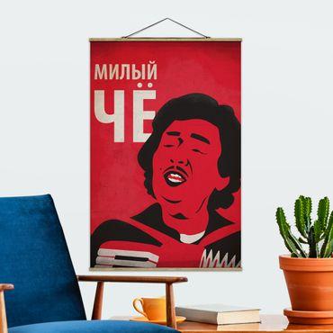 Foto su tessuto da parete con bastone - Film Poster Afonia III - Verticale 3:2