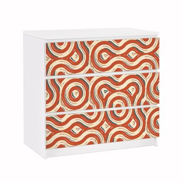 Carta adesiva per mobili IKEA - Malm Cassettiera 3xCassetti ? Abstract Ethno