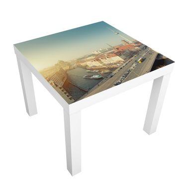 Carta adesiva per mobili IKEA - Lack Tavolino Berlin in the morning