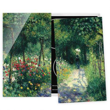 Coprifornelli in vetro - Auguste Renoir - Women In The Garden - 52x80cm