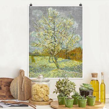 Poster - Vincent Van Gogh - Rosa Pesco - Verticale 4:3
