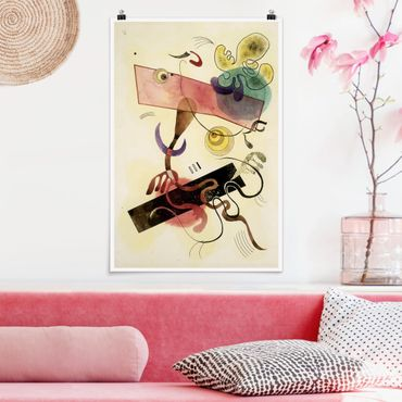 Poster - Wassily Kandinsky - taches - Verticale 3:2