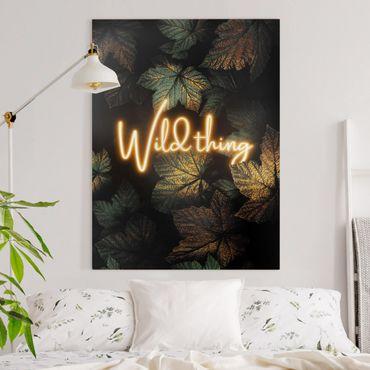 Quadri su tela - Wild Thing Golden Leaves