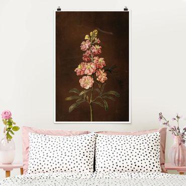 Poster - Barbara Regina Dietzsch - Un Pink Garden Levkkoje - Verticale 3:2