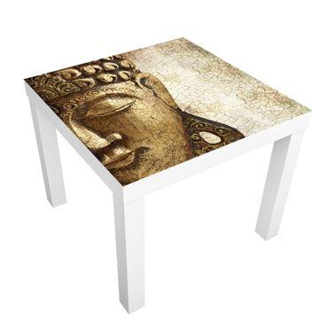 Carta adesiva per mobili IKEA - Lack Tavolino Vintage Buddha