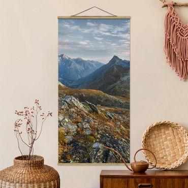 Foto su tessuto da parete con bastone - Col Fenêtre De Svizzera - Verticale 2:1