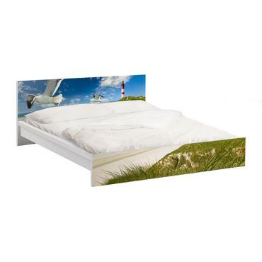 Carta adesiva per mobili IKEA - Malm Letto basso 180x200cm Dune Breeze
