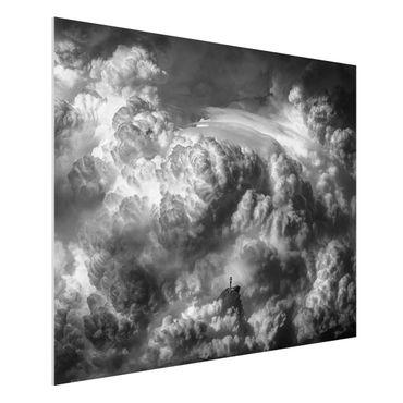 Quadro in forex - Una tempesta è in arrivo - Orizzontale 4:3