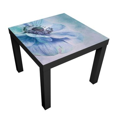 Tavolino design Blossom In Turquoise