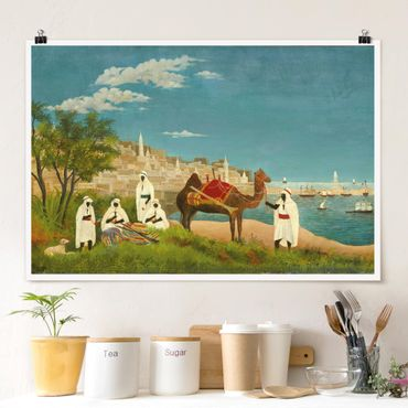 Poster - Henri Rousseau - Paesaggio di Algeri - Orizzontale 2:3