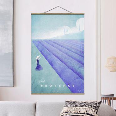 Foto su tessuto da parete con bastone - Poster Viaggi - Provenza - Verticale 3:2