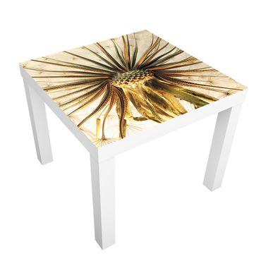 Carta adesiva per mobili IKEA - Lack Tavolino Dandelion close up