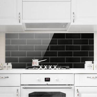 Paraschizzi in vetro - Ceramic Tiles Black