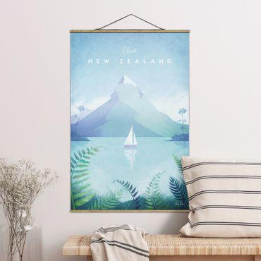 Foto su tessuto da parete con bastone - Poster Viaggi - Nuova Zelanda - Verticale 3:2
