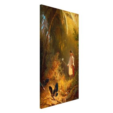 Lavagna magnetica - Carl Spitzweg - The Butterfly Hunter - Formato verticale 4:3