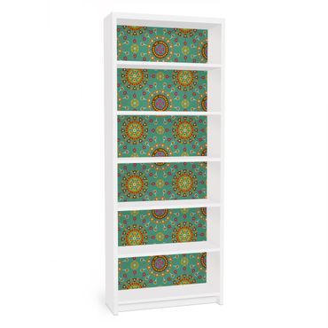 Carta adesiva per mobili IKEA - Billy Libreria - Ethno Design