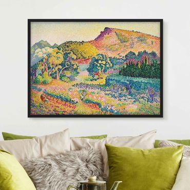 Poster con cornice - Henri-Edmond Cross - Landscape With Le Cap Nègre - Orizzontale 3:4