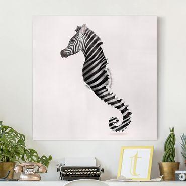Quadri su tela - Seahorse Zebra Stripes CON