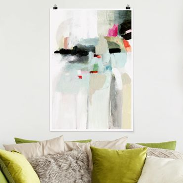 Poster - Colorful Waterfalls II - Verticale 3:2