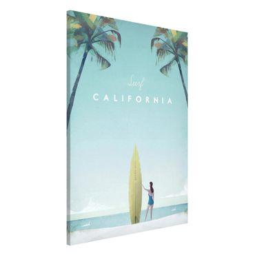 Lavagna magnetica - Poster di viaggio - California - Formato verticale 2:3