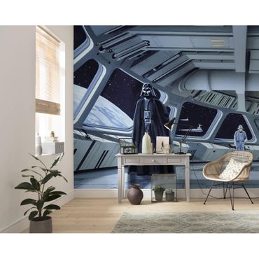 Carta da parati per bambini - Star Wars Classic RMQ Stardestroyer Deck - Komar fotomurale