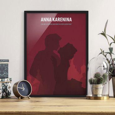 Poster con cornice - Poster del film Anna Karenina - Verticale 4:3