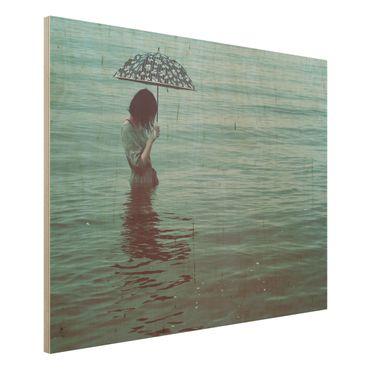 Quadro in legno - Walk In The Water - Orizzontale 4:3