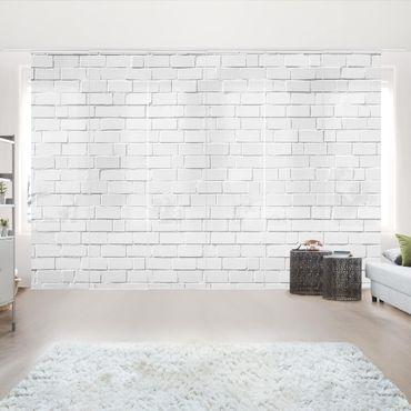 Tende scorrevoli set - White Stone Wall