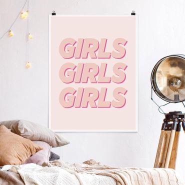 Poster - Girls Girls Girls - Verticale 4:3