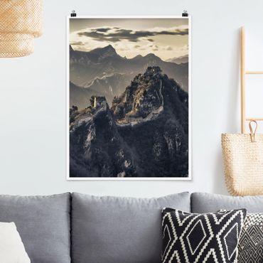 Poster - La Grande Muraglia cinese - Verticale 4:3