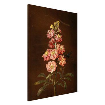 Lavagna magnetica - Barbara Regina Dietzsch - Un Pink Garden Levkkoje - Formato verticale 2:3
