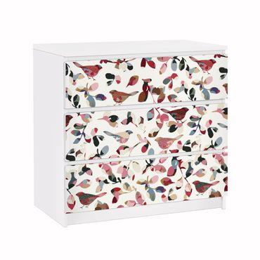Carta adesiva per mobili IKEA - Malm Cassettiera 3xCassetti - Look Closer