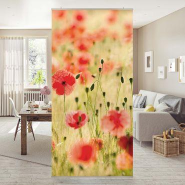 Tenda a pannello Summer Poppies 250x120cm