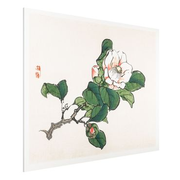 Stampa su Forex - Asian Vintage Disegno Apple Blossom - Orizzontale 3:4