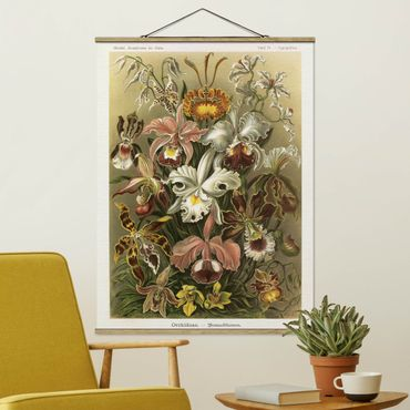 Foto su tessuto da parete con bastone - Consiglio Orchid Vintage - Verticale 4:3
