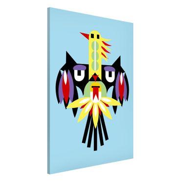 Lavagna magnetica - Collage Ethno mostro - Ala - Formato verticale 2:3