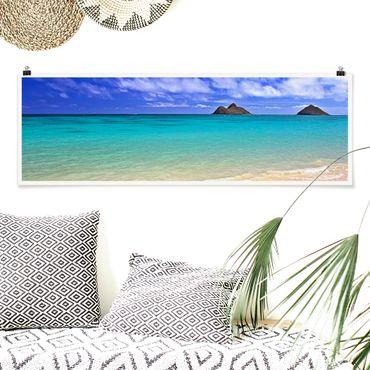 Poster - Paradise Beach - Panorama formato orizzontale