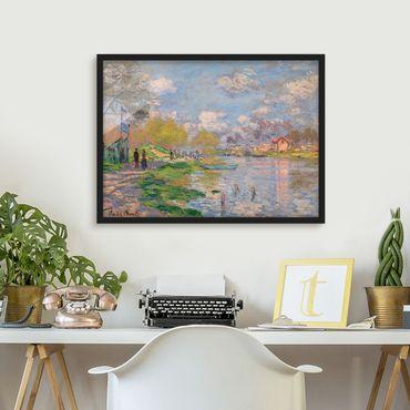 Poster con cornice - Claude Monet - Seine - Orizzontale 3:4