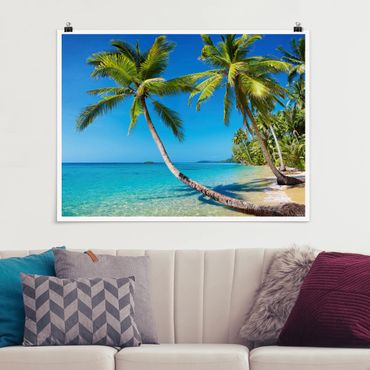 Poster - Spiaggia di Thailandia - Orizzontale 3:4