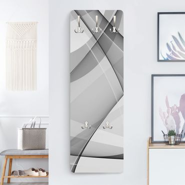 Appendiabiti di design - Cambiamenti - Bianco