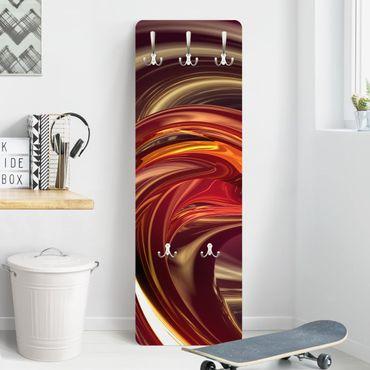Appendiabiti di design - Fantastic Burning - Rosso