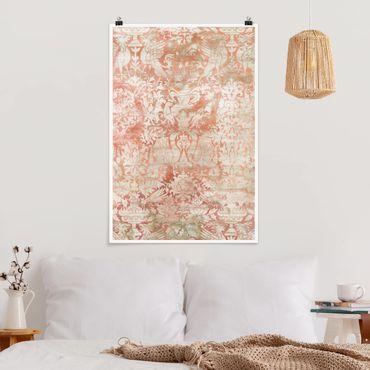 Poster - Ornamento Tissue II - Verticale 3:2