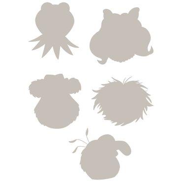 Adesivo murale per bambini - Muppet