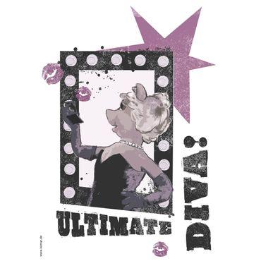 Adesivo murale per bambini - Muppet: ultimate Diva