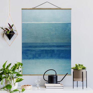 Foto su tessuto da parete con bastone - Inondazione - Verticale 3:4