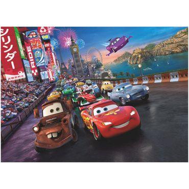 Carta da parati - Cars: motori ruggenti gara