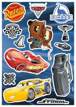 Adesivo murale per bambini - Disney Cars 3