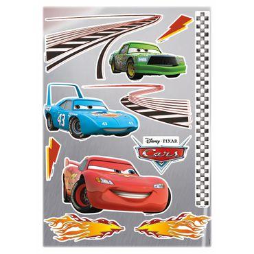 Adesivo murale per bambini - Cars: motori ruggenti