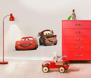 Adesivo murale per bambini - Cars: motori ruggenti amici